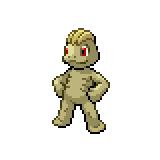 Pokémon Pokédex Nummer 66 Machollo Shiny
