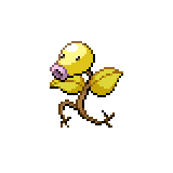 Pokémon Pokédex Nummer 69 Knofensa Shiny
