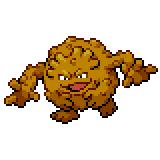 Pokémon Pokédex Nummer 75 Georok Shiny