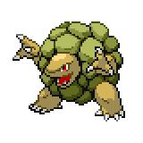 Pokémon Pokédex Nummer 76 Geowaz