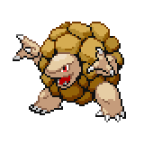 Pokémon Pokédex Nummer 76 Geowaz Shiny