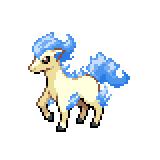 Pokémon Pokédex Nummer 77 Ponita Shiny