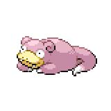 Pokémon Pokédex Nummer 79 Flegmon Shiny
