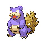 Pokémon Pokédex Nummer 80 Lahmus Shiny