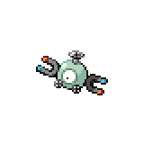 Pokémon Pokédex Nummer 81 Magnetilo