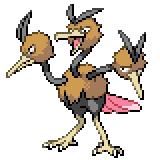 Pokémon Pokédex Nummer 85 Dodri