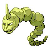Pokémon Pokédex Nummer 95 Onix Shiny