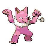 Pokémon Pokédex Nummer 97 Hypno Shiny