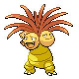 Pokémon Pokédex Nummer 103 Kokowei Shiny