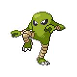 Pokémon Pokédex Nummer 106 Kicklee Shiny