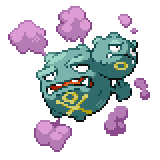 Pokémon Pokédex Nummer 110 Smogmog Shiny