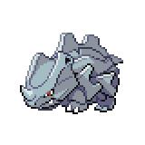 Pokémon Pokédex Nummer 111 Rihorn