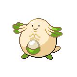 Pokémon Pokédex Nummer 113 Chaneira Shiny