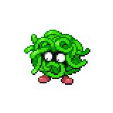 Pokémon Pokédex Nummer 114 Tangela Shiny