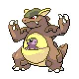 Pokémon Pokédex Nummer 115 Kangama