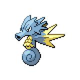 Pokémon Pokédex Nummer 117 Seemon