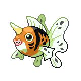Pokémon Pokédex Nummer 119 Golking Shiny