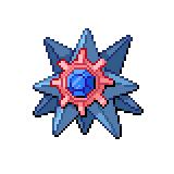 Pokémon Pokédex Nummer 121 Starmie Shiny