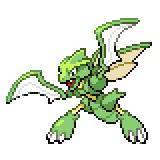 Pokémon Pokédex Nummer 123 Sichlor