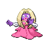 Pokémon Pokédex Nummer 124 Rossana Shiny