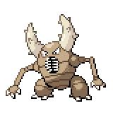 Pokémon Pokédex Nummer 127 Pinsir