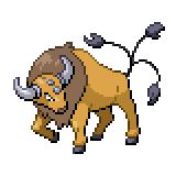 Pokémon Pokédex Nummer 128 Tauros