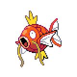 Pokémon Pokédex Nummer 129 Karpador