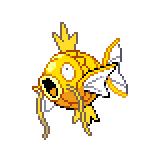 Pokémon Pokédex Nummer 129 Karpador Shiny
