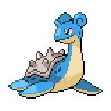 Pokémon Pokédex Nummer 131 Lapras