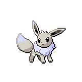 Pokémon Pokédex Nummer 133 Evoli Shiny