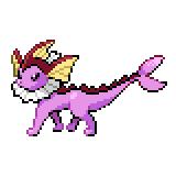 Pokémon Pokédex Nummer 134 Aquana Shiny