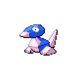Pokémon Pokédex Nummer 136 Porygon Shiny