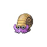 Pokémon Pokédex Nummer 138 Amonitas Shiny