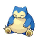 Pokémon Pokédex Nummer 143 Relaxo Shiny
