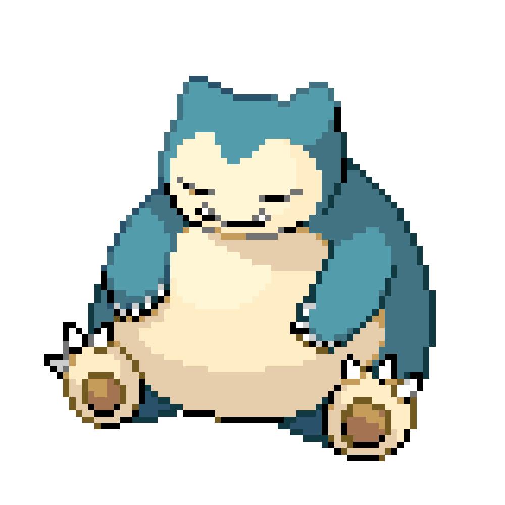 Pokémon Pokédex Nummer 143 Relaxo