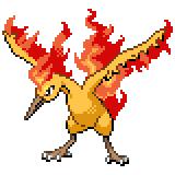 Pokémon Pokédex Nummer 146 Lavados