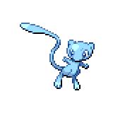 Pokémon Pokédex Nummer 151 Mew Shiny