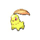 Pokémon Pokédex Nummer 152 Endivie Shiny