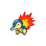 Pokémon Pokédex Nummer 155 Feurigel