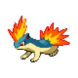Pokémon Pokédex Nummer 156 Igelavar