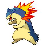 Pokémon Pokédex Nummer 157 Tornupto