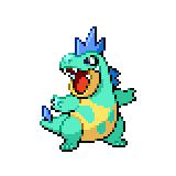 Pokémon Pokédex Nummer 159 Tyracroc Shiny
