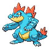 Pokémon Pokédex Nummer 160 Impergator