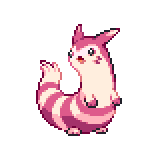 Pokémon Pokédex Nummer 162 Wiesenior Shiny