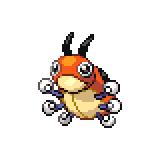 Pokémon Pokédex Nummer 165 Ledyba