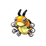 Pokémon Pokédex Nummer 165 Ledyba Shiny