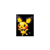 Pokémon Pokédex Nummer 172 Pichu Shiny