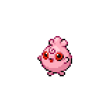 Pokémon Pokédex Nummer 174 Fluffeluff