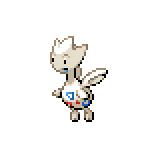 Pokémon Pokédex Nummer 176 Togetic Shiny