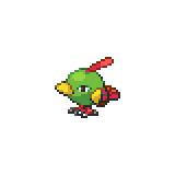 Pokémon Pokédex Nummer 177 Natu